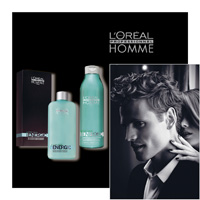 'L' OREAL PROFESSIONNEL HOMME - energic - L OREAL PROFESSIONNEL - LOREAL