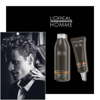 L'OREAL PROFESSIONNEL HOMME - FIBERBOOST and SOIN FIBERFUEL - L OREAL PROFESSIONNEL - LOREAL