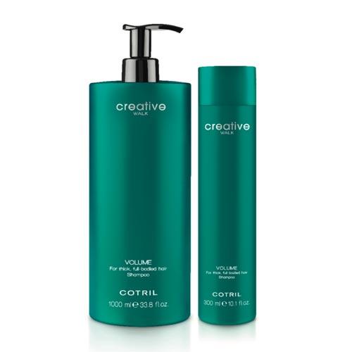 CREATIVE spacerem pojemność: Gruby, pełny zabudowanych szampon do włosów.