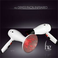HG مجفف شعر مجفف الأشعة تحت الحمراء